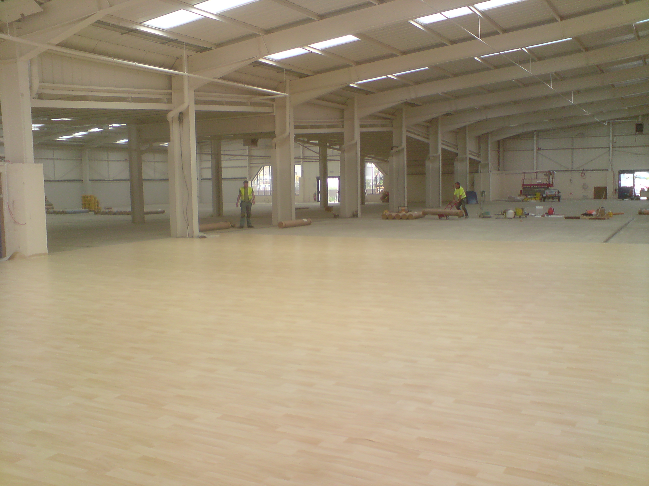 P m flooring commercial flooring contractors for Flooring companies