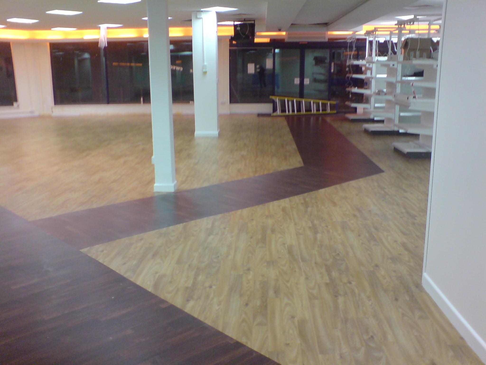 P m flooring commercial flooring contractors for Flooring companies